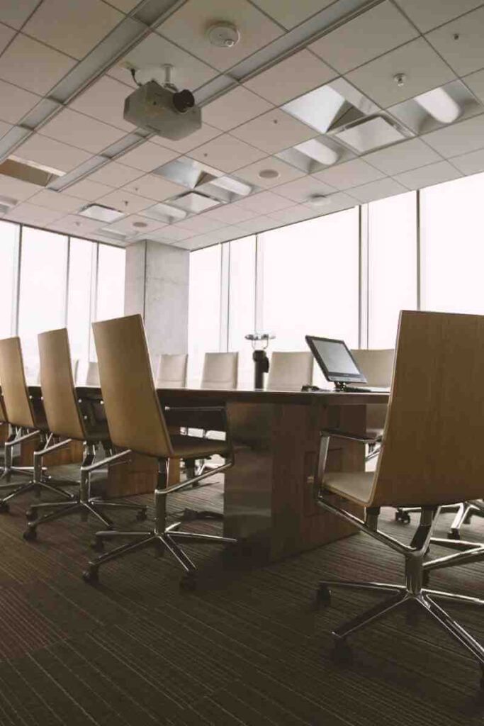Boardroom an example of where influencing skills are needed